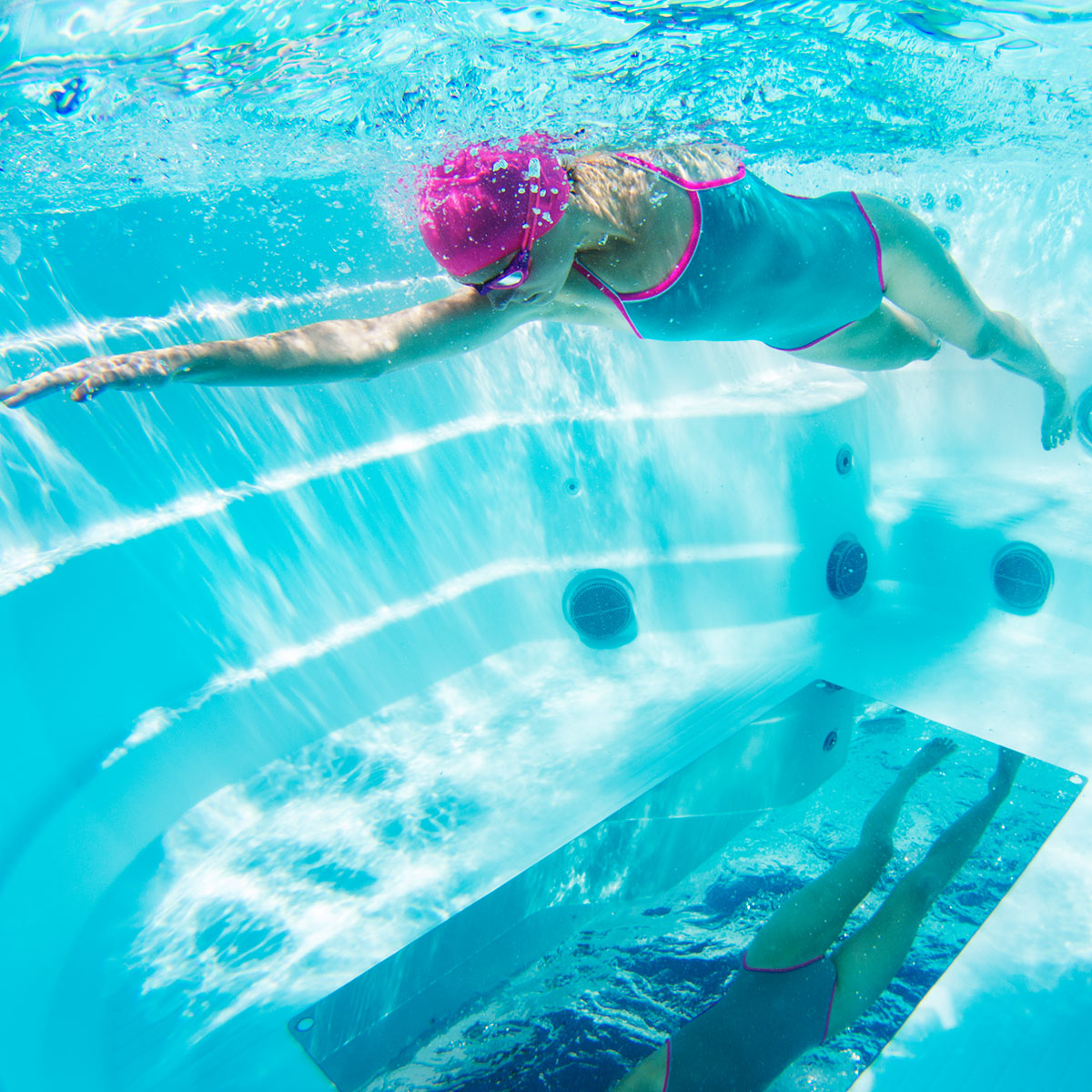 Underwater Mirror Outback Pool Amp Spa